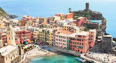 paintings of cinque terre, Italy - Google Search