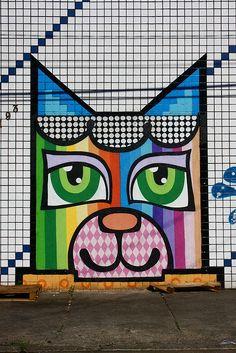 MINHAU, Grafiti art - Sao Paulo #TheCrazyCities #crazySaoPaulo