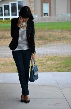 Canadian Fashionista #smartset #pants #tartan
