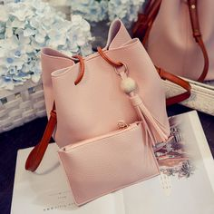 4f1ffa2994 Drawstring Handbags Composite Ladies Small Crossbody Bucket Bags