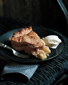 Apple-Pear Pie with Walnut Crust Recipe