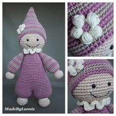 MadeByLeonie: Cuddly Baby (Link to pattern)