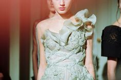 VALENTINO COUTURE SS/13, photo taken from VMAGAZINE FB page.
