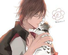 埋め込み Hot Anime Boy, Anime Sexy, Anime Art Girl, I Love Anime, Anime Boys, Chica Anime Manga, Manga Boy, Touken Ranbu, Handsome Anime Guys