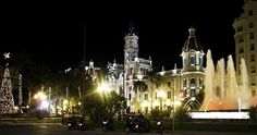 Valencia at Night- Visit Spain Through Stunning Photographs