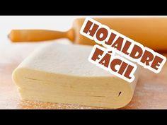 Hojaldre fácil - Recetas de postres (y panes) Delicious Desserts, Dessert Recipes, Yummy Food, Mexican Bread, Pan Dulce, Sweet Pastries, Pie Cake, Empanadas, Sin Gluten