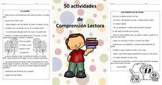 50 Ejercicios de COMPRENSIÓN LECTORA (Evaluaciones incluidas)