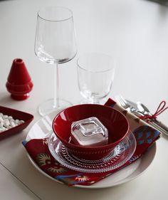 Iittala products featuring Red Christmas Rød jul og Feng Shui   Purodeco Feng Shui http://www.purodecofengshui.com/jul-feng-shui/