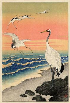 artelino - Art auctions of Japanese prints, ukiyo-e and contemporary Chinese art. The artelino company, located in a small village in Bavaria, is a family business specialized in online auctions of Japanese prints since Japanese Painting, Japanese Prints, Chinese Painting, Chinese Art, Art Canard, Ohara Koson, Art Chinois, Japon Illustration, Decks