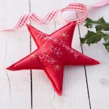 Nordic Star Christmas Tree Topper