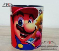 Canecas de cer�mica Super Mario, acompanha caixinha personalizada com a mesma estampa da caneca. <br>Alto brilho. <br>Entrega r�pida. <br>Whatsapp: 15 9 81600601