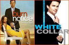 White Collar, Burn Notice
