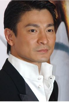 Andy Lau (my fav actor). He can sing too.