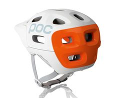 Bicycle helmet based on design of human skull. I'm all for head protection for anyone riding bicycles, motor cycles, etc.