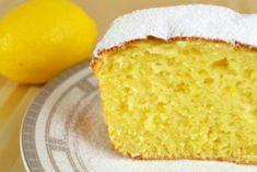Кекс с нежным ароматом лимона, который тает во рту