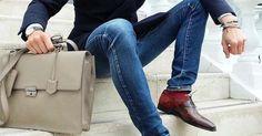 The Golden Dapper — stylish urban life // urban men // mens fashion //...