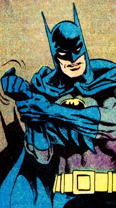 jthenr-comics-vault:  COMIC BOOK CLOSE UP B A T M A NDetective Comics #526 (May 1983)Art by Don Newton (pencils), Alfredo Alcala (inks) & Adrienne Roy (colors)