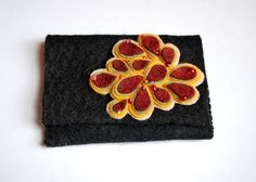 I just love this felted wallet.