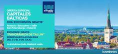 Ofertas en www.viajesviaverde.es: Pullmantur Cruceros ¡Oferta Capitales Bálticas con...