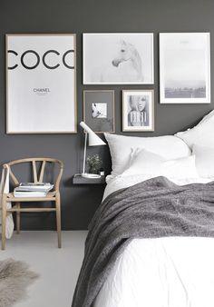 Inspiration: das graue Schlafzimmer