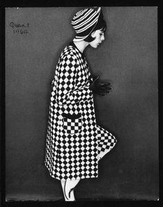 1964 Mary Quant fashion 400x509 Designer Crocher: Mary Quant
