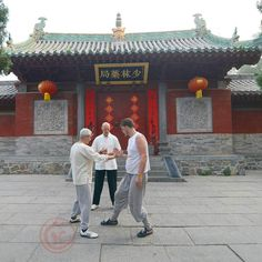 On our Shaolin Temple Kung Fu programs we do taichi every morning to help ease participants into the intense day ahead!