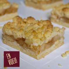 Apple Crumble Receta, Apple Crumble Pie, Sweet Recipes, Cake Recipes, Chocolates, Pan Dulce, Apple Desserts, Food Cakes, Bakery