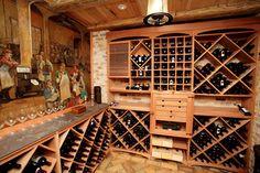 Cabinet Jobs - traditional - wine cellar - dallas - Daycor Enterprises, INC.