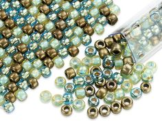 Artbeads Mermaid Treasures Designer Blend, 6/0 TOHO Round Seed Beads
