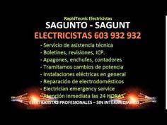 Electricistas SAGUNTO 603 932 932 Baratos