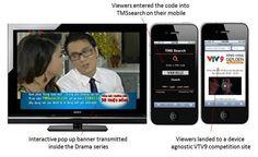 TMS technology links VTV9's primetime TV drama series to mobile screen