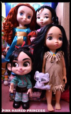 Pink Haired Princess: Monster High: Catrine DeMew & Other Dolls