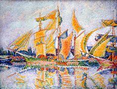 Signac. Les ports de France | MuMa Le Havre : site officiel du musée d'art moderne André Malraux