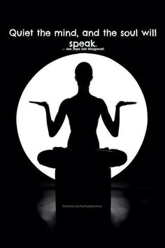 Yes it's good to pray but silencing v the mind is where you will find the answers