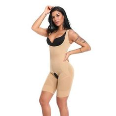 c650170b2b Women Shapewear Bodysuit Full Body Shaper Fiber Waist Trainer Corset Magic  Slim Tummy Control Slimming Bodysuit Thigh Reducer