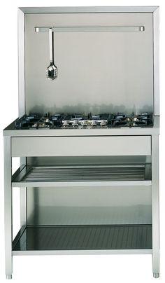 Quadra Modular är ILVEs restaurangkök, där du kan hitta bl a stabila arbetsbänkar.