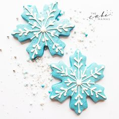 Snowflake decorated sugar cookies. Call or email to order your celebration sugar cookies. Click visit to learn more!  #sugarcookies #snow #snowflakes #decoratedcookies #winter #christmas #holiday #dessert #holidaydessert