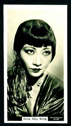 Cigarette Card - Anna May Wong
