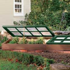Coldframes are awesome. If you can repurpose windows or doors, this is a great idea.