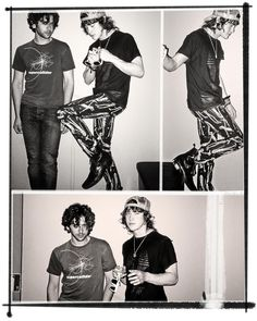 Andrew Vanwyngarden and Ben Goldwasser of MGMT #music #MGMT #musicians