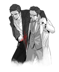 POI Fanart (Reese and Finch - rated G) by @coinmint | Person of Interest Discussion Forum