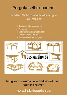 Build a terrace roof yourself, build a pergola, build a canopy, immediately … - Modern White Pergola, Small Pergola, Pergola Attached To House, Pergola With Roof, Covered Pergola, Backyard Pergola, Pergola Kits, Gazebo, Pergola Shade