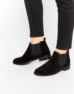 Image 1 of ASOS AMERICA Suede Chelsea Ankle Boots Chelsea Ankle Boots c71bd8f98e3