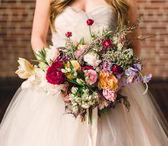 Beautiful, textural bouquet