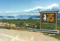 Polson Montana Flathead Lake