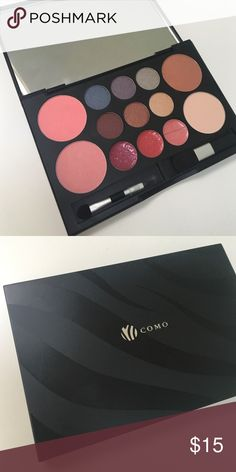 • Makeup Palette • •Info This makeup palette was a promotional gift at an event and has my last name on the front however I have never used it! Comes with lipgloss, blush and eyeshadow as well as two brushes. Great for on the go!  🔹No Trades/alternate transactions 🔹24 hour holds ONLY 🔹Make fair offers through offer button 🔹Same or next day shipping 🔹Free gift with every purchase $20+ 🔹Scratch off coupon given with all orders 📷 Closet Instagram: @alexandra.como 📷 Personal Instagram…