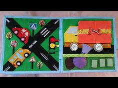 Quiet Book #5 for Boys - YouTube