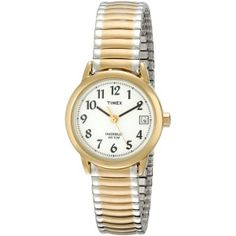 Timex Women's Easy Reader Two Tone Expansion Band Watch timex wrist watches for ladies Casual Watches, Cool Watches, Watches For Men, Ladies Watches, Rolex Women, Best Watch Brands, Timex Watches, Women's Watches, Watches Photography