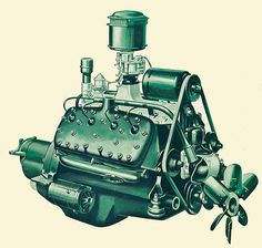 1940 Ford Flathead V8 - I put one of these in my 1931 Model A Sedan.  It added 40 HP to the car and I could still close the side panels - I need to find that car and buy it back!