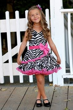 Ooh! La, La! Couture Zebra Sundress